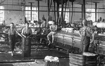 A Lancashire Cotton Mill