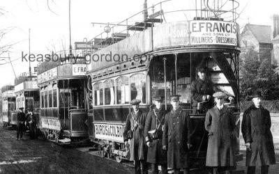 Trams in Leamington Spa