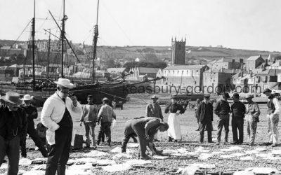 St. Ives' fishermen