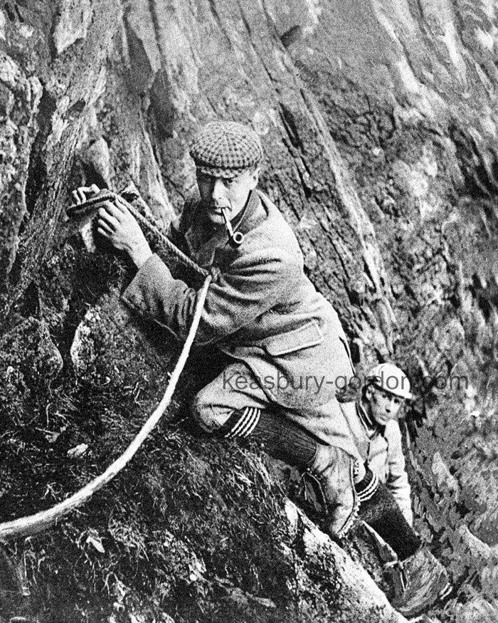 Climbing Scafell Pike