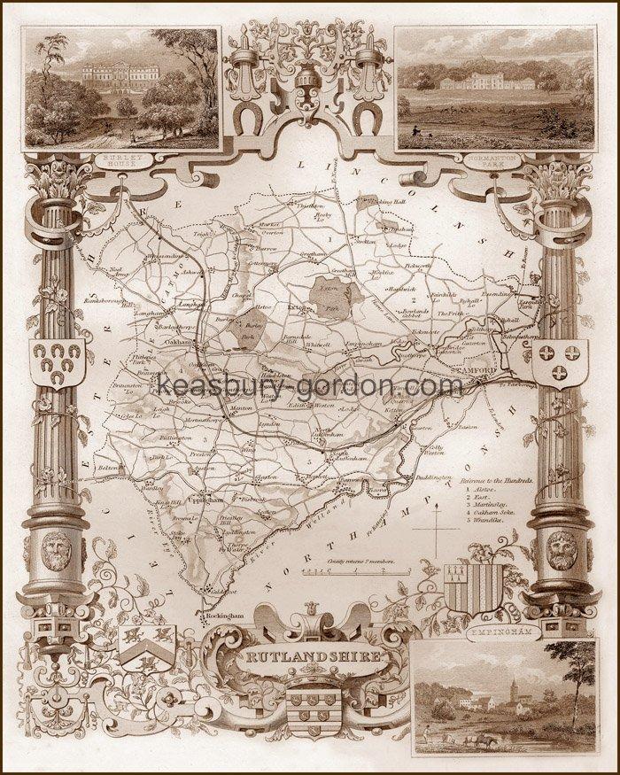 An 1840s Map of Rutland