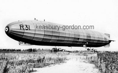 An RAF Airship