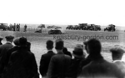 Racing on Southport Beach