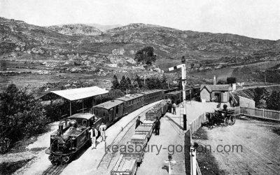 Ffestiniog Railway at Tan-y-Blwch