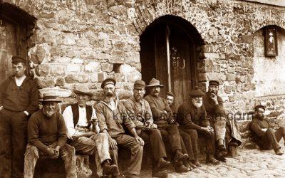 Clovelly Fishermen