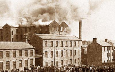 The Mill Fire, Huddersfield