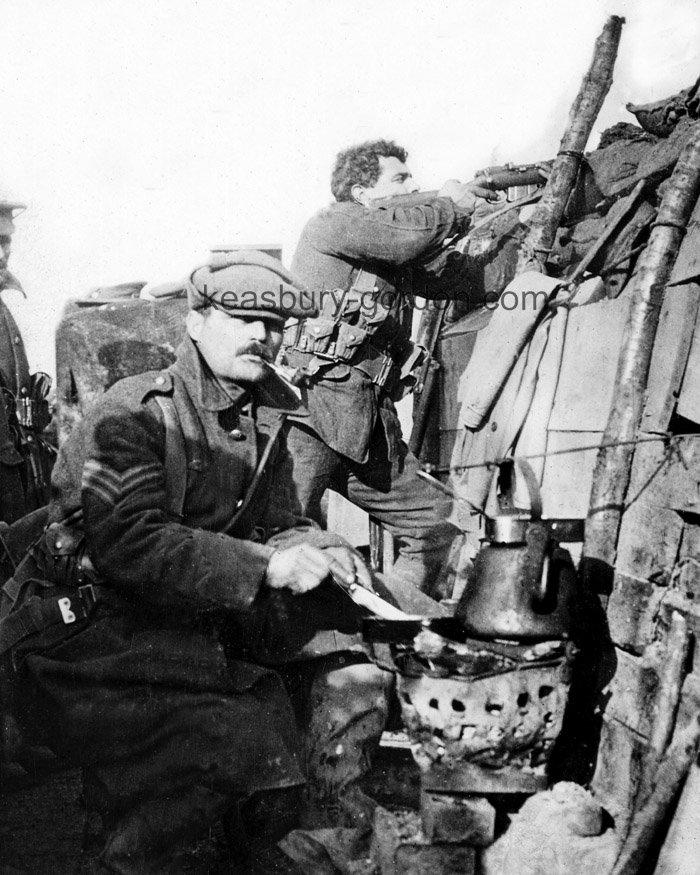 A WW1 Trench