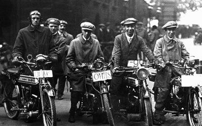 Motorcycle Volunteers in WW1