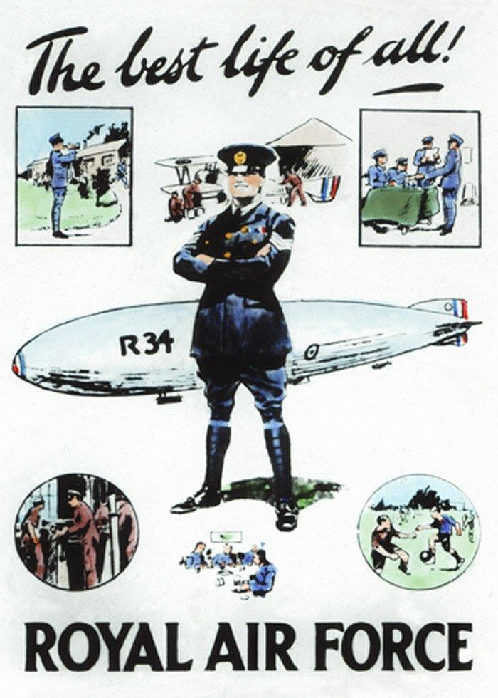 RAF Recruitment Poster